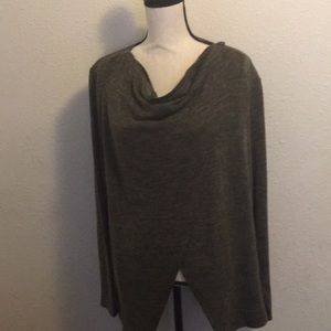 Maurices buttoned cardigan shawl w/ lace size XXL